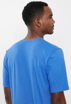 Jockey - Sleep short sleeve V-tee - blue cove