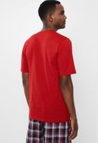 Jockey - Short sleeve V-tee - red