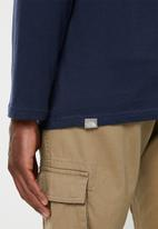 The North Face - Long sleeve easy tee - navy