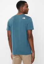The North Face - Short sleeve simple dome tee - mallard blue