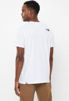 The North Face - Short sleeve fine alp tee - white