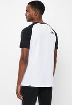 The North Face - Short sleeve raglan easy tee - white