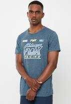 Fox - Jetskee short sleeve tee - dusty blue