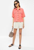 Vero Moda - Pina wide 2/4 shirt - dubarry