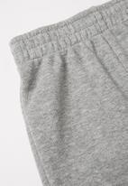 Nike - Nike boys short sleeve tee pant set - black & grey