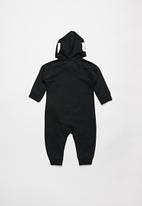 Nike - Nike hooded baby ft coverall - black