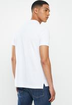 Diesel  - T-skatt-b3 polo shirt - white