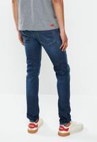 Diesel  - D-luster slim fit jeans - blue
