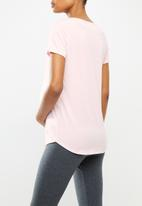 Cotton On - Maternity gym T-shirt - pink
