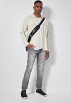 Superbalist - Cali skinny biker jeans - grey