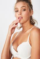Cotton On - Cindy contour bra - cream