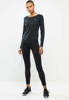 Under Armour - Armour long sleeve top - black & silver