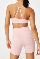 Cotton On - Workout yoga crop - pink
