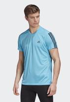 adidas Performance - Run it 3s short sleeve tee - blue