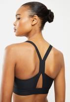 Under Armour - Armour mid impact graphic bra- black