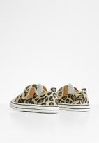 POP CANDY - Girls animal print sneaker - beige