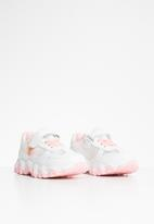 POP CANDY - Girls velcro strap sneaker - white & pink