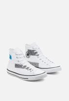 Converse - Chuck Taylor All Star patchwork hi - white/black/sail blue