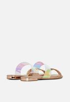 Call It Spring - Ajana sandal - rose gold