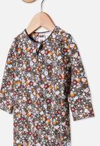 Cotton On - The long sleeve zip romper - multi