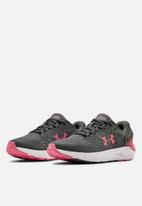 Under Armour - Ua w charged rogue 2 - pitch grey / white / slate purple