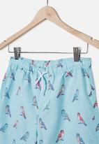 Free by Cotton On - Boys bailey boardshort - blue