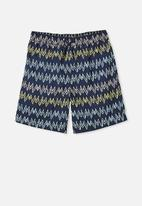 Free by Cotton On - Boys bailey boardshort - navy
