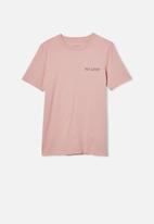Free by Cotton On - Free boys skater short sleeve tee - pink