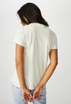 Cotton On - Classic slogan T-shirt - arizona/gardenia