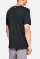 Under Armour - Ua sport style short sleeve T-shirt - black