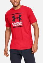 Under Armour - Ua gl foundation short sleeve tee - red