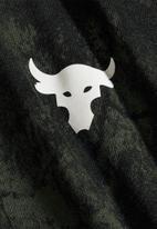 Under Armour - Ua pjt rock allover print short sleeve tee - green