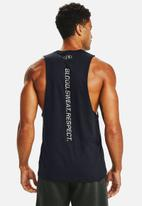 Under Armour - Ua project rock bsr tank - black