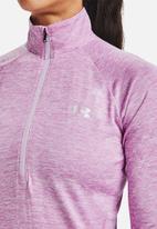 Under Armour - Tech 1/2 zip jacket - purple