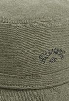 Billabong  - Wave washed bucket hat - military green