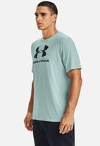 Under Armour - Ua sportstyle logo short sleeve tee - light blue