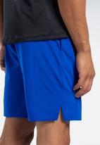 Reebok - Wor comm woven shorts - blue