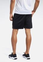 Reebok - Wor comm knit shorts - black