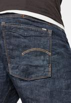 G-Star RAW - Scutar 3d slim tapered-kir stretch denim - blue
