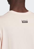 adidas Originals - D short sleeve tee - light pink