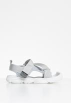POP CANDY - Strap sandal - grey