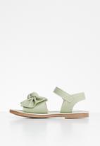 POP CANDY - Girls bow sandal - green