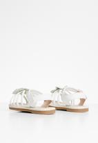 POP CANDY - Girls flower detail sandal - white