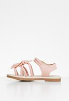 POP CANDY - Girls flower detail sandal - pink