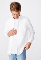 Cotton On - Brunswick shirt 3 - white oxford