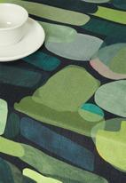 Hertex Fabrics - Mankind table cloth - ravine