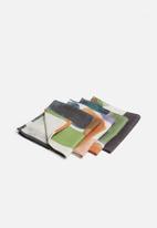 Hertex Fabrics - Mankind napkin set of 4 - soil