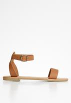 Superbalist - Stace ankle strap sandal - tan
