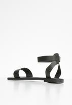Superbalist - Stace ankle strap sandal - black