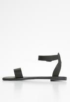 Superbalist - Stace ankle strap sandal - black